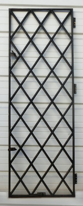 English Iron Diamond Window A11576 Architectural Accents