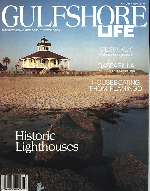 Gulf Shore Life - October 1990 - cover