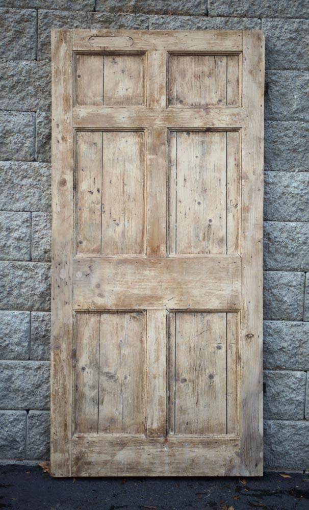 English Gregorian Door A11879 - Antique Oak French Doors, Wood Glass Front Door, Architectural