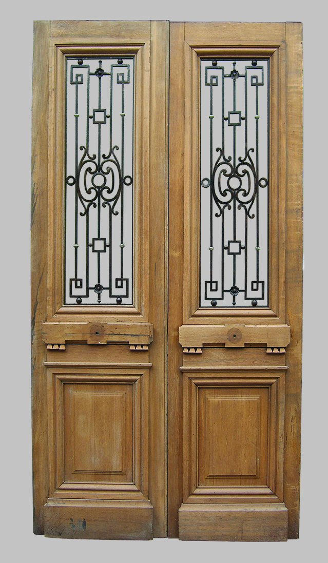 Antique oak french doors wood glass front door architectural french oak doors with transom a10491 planetlyrics Images