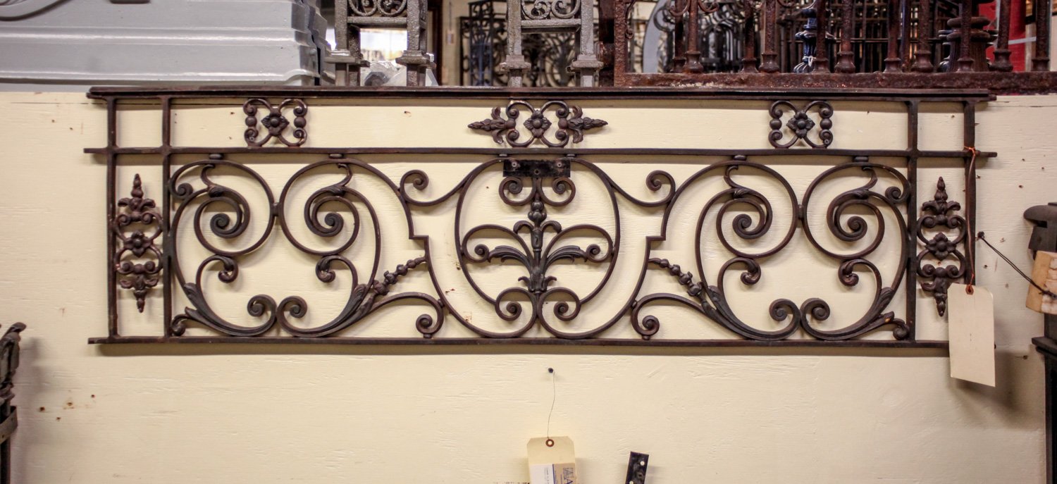 French Cast Iron Balcony A10471 Architectural Accents