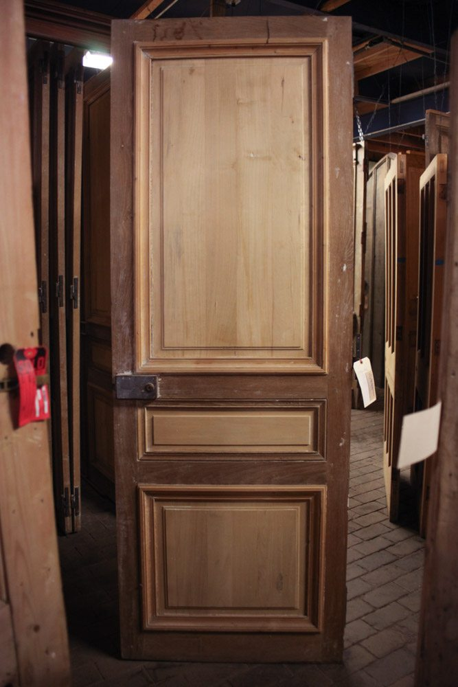 Oak French Door With Pine Panels A10802 Architectural Accents