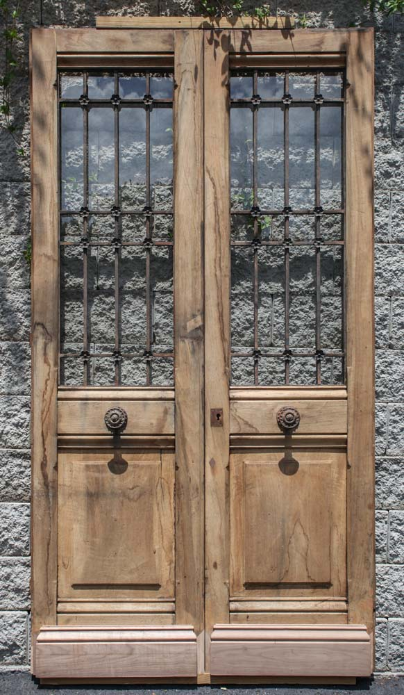 Oak French Doors Wood Gl Front Door