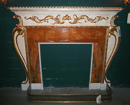 Antique Stone Marble Fireplace Mantels